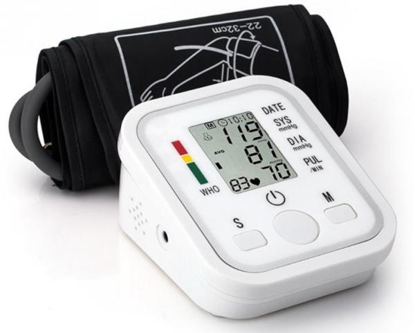 MÁY ĐO HUYẾT ÁP BẮP TAY TỰ ĐỘNG (ARM STYLE) tặng kèm túi rút chắc chắn [ Máy đo huyết áp điện tử # Máy đo nhịp tim # Máy theo dõi sức khoẻ ]