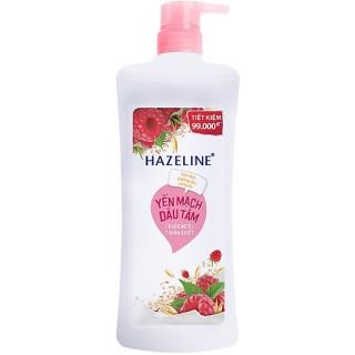 Sữa tắm sáng da yến mạch dâu tằm Hazeline 900g thumbnail