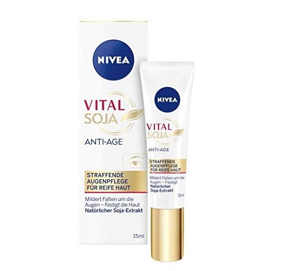 Kem dưỡng mắt Nivea Vital Soja Anti- Age chống nhăn 15ml - Đức tốt nhất