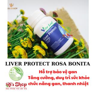 THỰC PHẨM HỖ TRỢ BẢO VỆ GAN - LIVER PROTECT - ROSA BONITA - HỖ TRỢ TĂNG CƯỜNG DUY TRÌ SỨC KHỎE CHỨC NĂNG GAN thumbnail