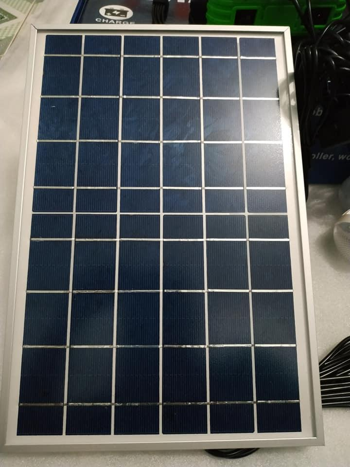 Tấm pin năng lượng mặt trời 50W solar panel Poly