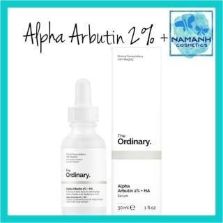 Serum dưỡng trắng da The Ordinary Alpha Arbutin 2% + HA Concentrated Serum 30ml thumbnail