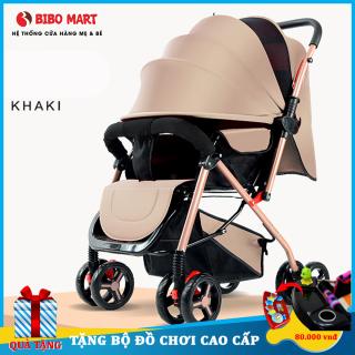 Xe đẩy cho em bé hai chiều hai tư thế nằm ngồi siêu nhẹ phiên bản cao cấp có thể gấp xách tay màu sắc của xe rất đa dạng Bảo hành 2 năm lỗi đổi mới trong 7 ngày thumbnail