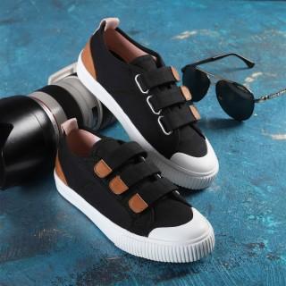 Giày Sneaker Chính Hãng Dincox Coxshoes E01 Black Quai Dán thumbnail
