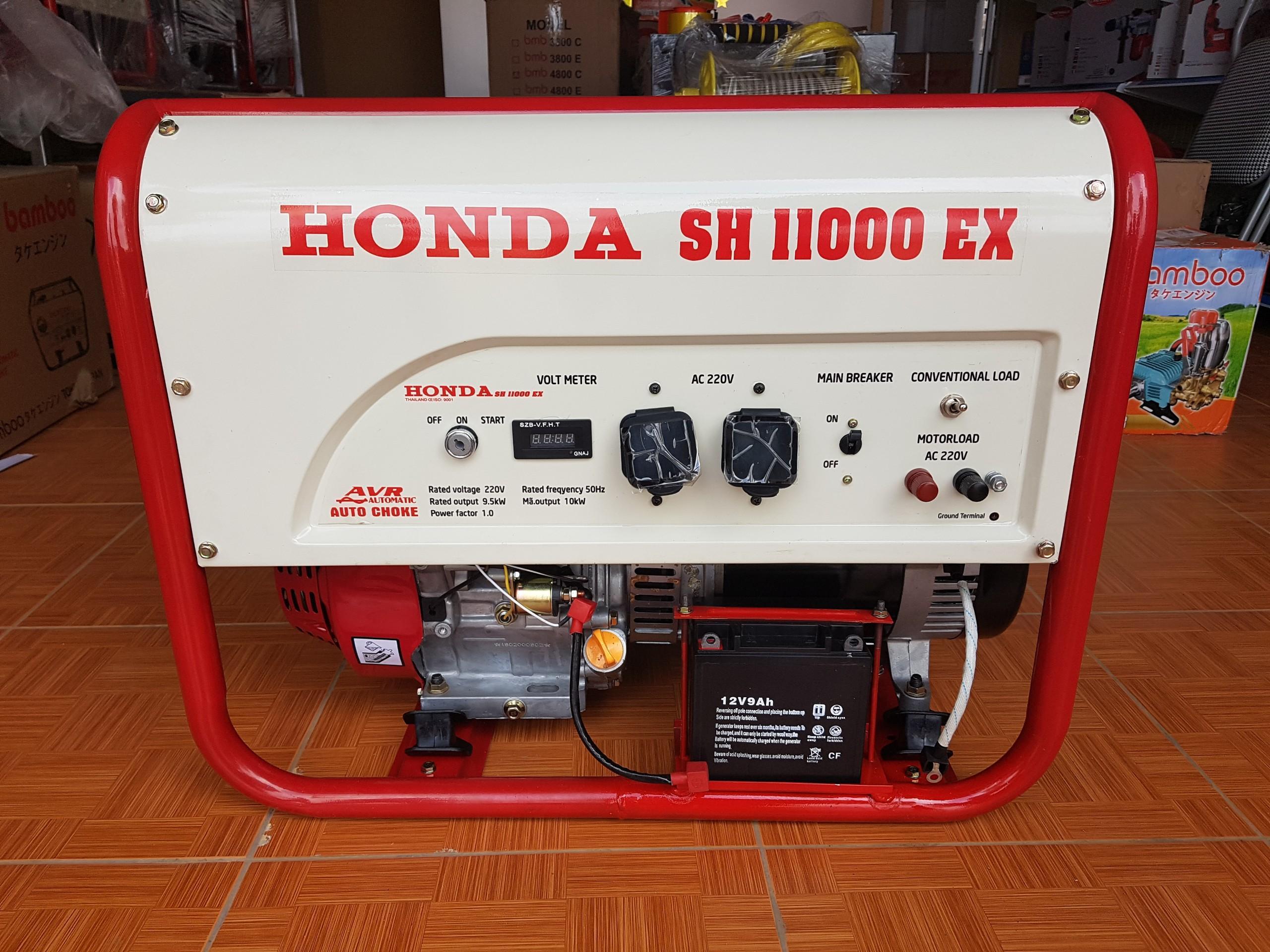 Máy phát điện Honda 9.5kw, máy phát điện chạy xăng, máy phát điện đề nổ