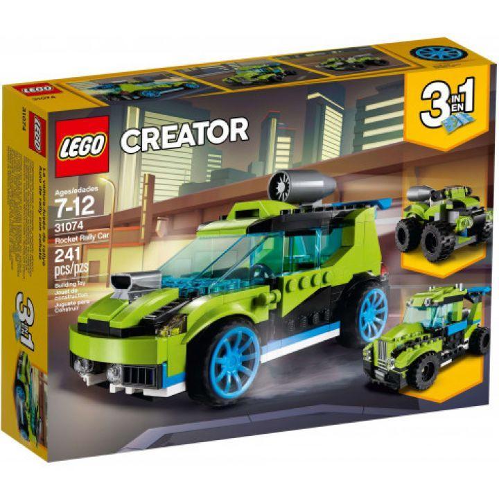 Deal Giảm Giá Set Le.go Creator - Bộ Lắp Ráp Xe đua Biến Hình 3 Trong 1 (Mã 31074)