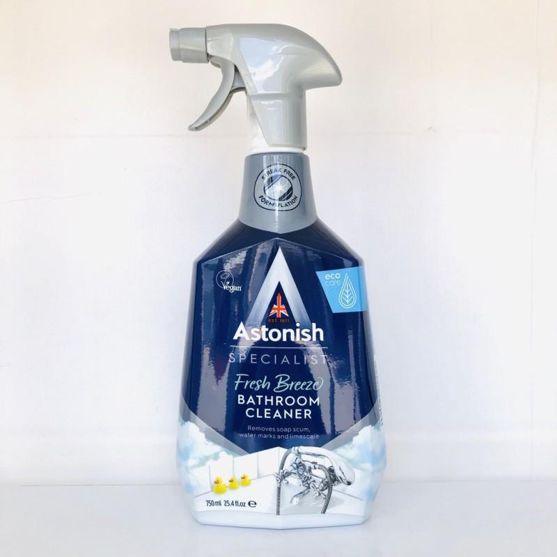 Chai tẩy bồn cầu ố vàng lâu năm Astonish tẩy sạch sen vòi inox , gạch men bám cặn canxi, phèn chai 750ml