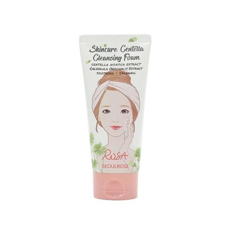 Sữa Rửa Mặt Rosa Seoulrose Skincure Centella Cleansing Foam 120ml giá rẻ