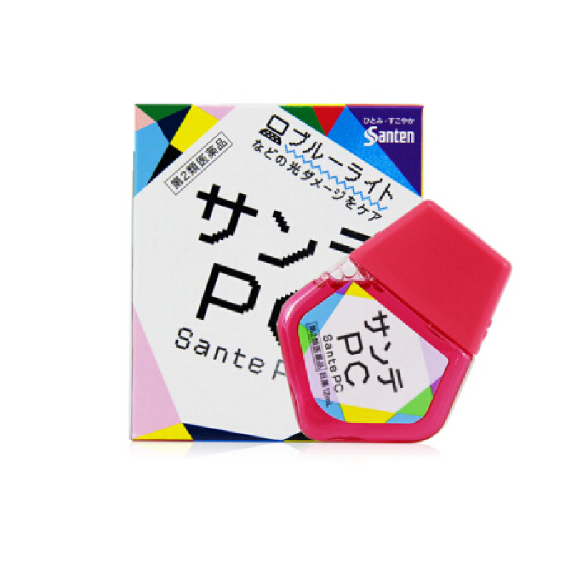 [CHÍNH HÃNG] Nước Nhỏ Mắt PC Sante Chống Bức Xạ Máy Tính Bảo Vệ Mắt Nhật Bản