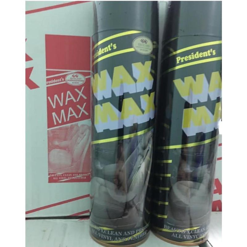 Chai xịt đánh bóng, dưỡng nội thất ô tô hương caphe- WAXMAX