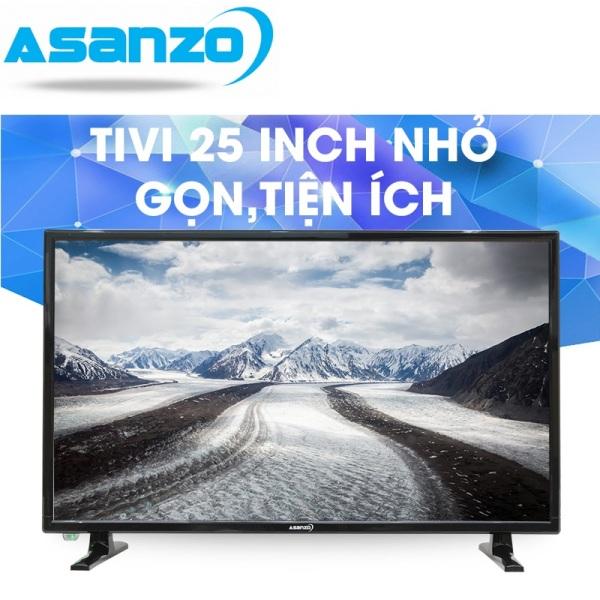 Bảng giá Tivi led 25 inch Asanzo tích hợp đầu thu KTS DVB-T2