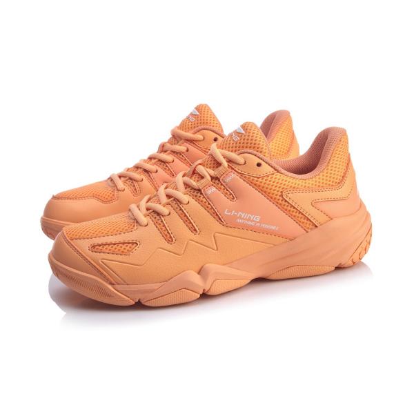 Bảng giá Giày cầu lông Lining AYTQ008-3 mẫu mới, chống lật cổ chân, dành cho nữ, màu cam da, đủ size - Giầy chơi cầu lông nữ -Giay bong chuyen - shop thể thao