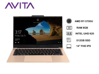 [Trả góp 0%]AVITA LIBER V 14 Unicorn Gold with Backpack - AMD RyzenTM 7 3700U RAM 8GB SSD 512GB Win 10 Home - Bảo hành 18 tháng - Tặng Balo - Hàng chính hãng thumbnail