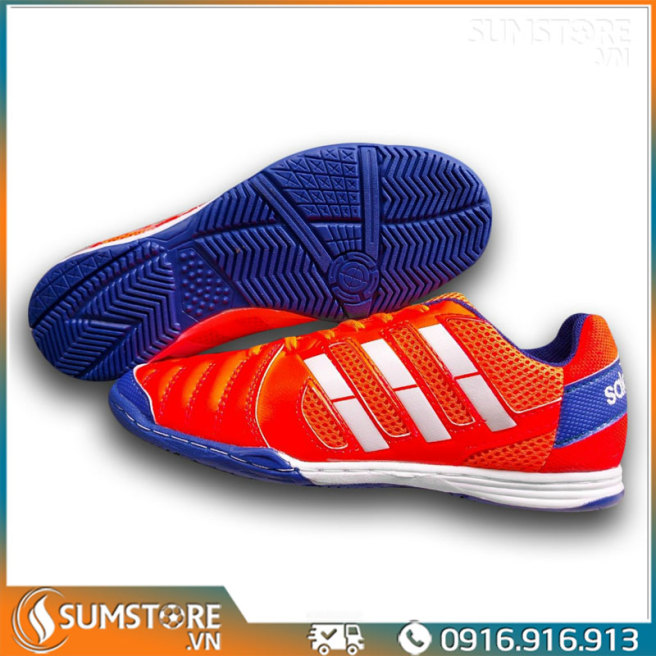 Giày Đế Bằng Đá Banh Futsal Winbro Sala Đỏ  - Giày Đá Bóng Mới 2021 (Tặng Kèm Vớ) giá rẻ
