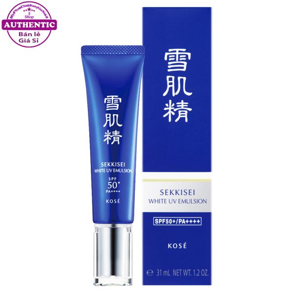 Nhũ Tương Dưỡng Ngày KOSE Sekkisei White UV Emulsion SPF50+