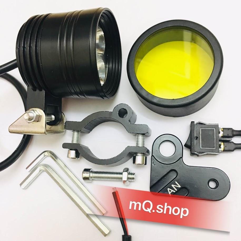 Đèn Pha Led Trợ Sáng L4-Cyt Tặng 3 Món By Mq.shop.