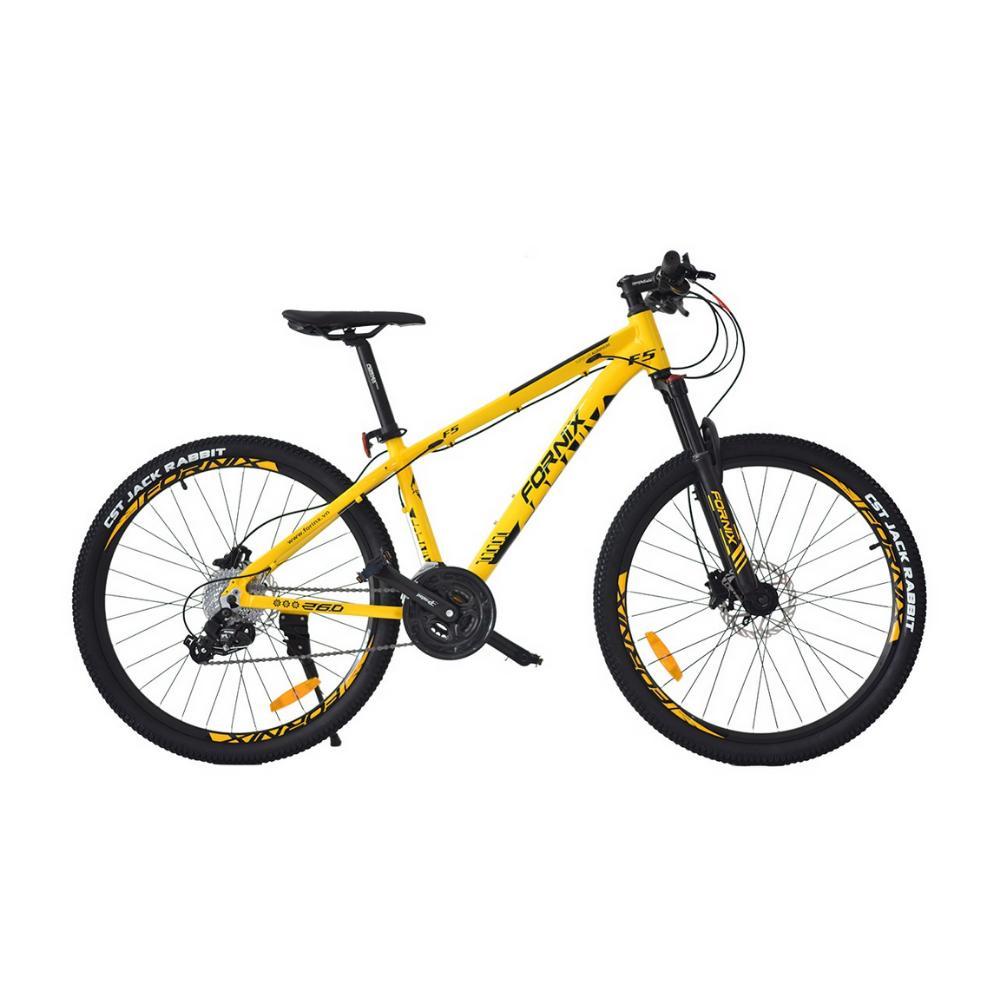 Mua Xe đạp địa hình F5 màu vàng cá tính