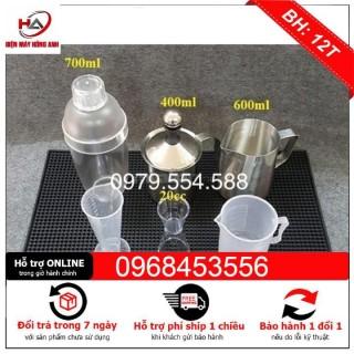 Bộ 8 món dụng cụ pha chế dùng cho quán cafe, trà sữa, bar thumbnail