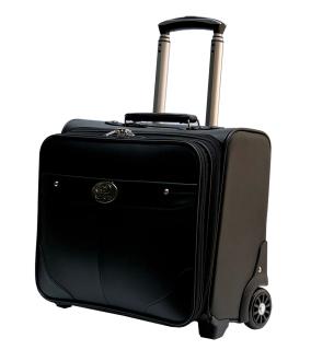 Vali 2 bánh kiểu kéo ngang tiếp viên hàng không size 16 chất liệu da nhân tạo TL515 thumbnail