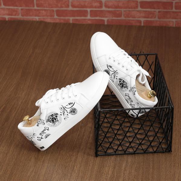 Giày Thể Thao Nam Trắng - Giày sneaker nam Hàn Quốc  Cao cấp  - TỔNG KHO(PL03) - GIÁ HỦY DIỆT giá rẻ