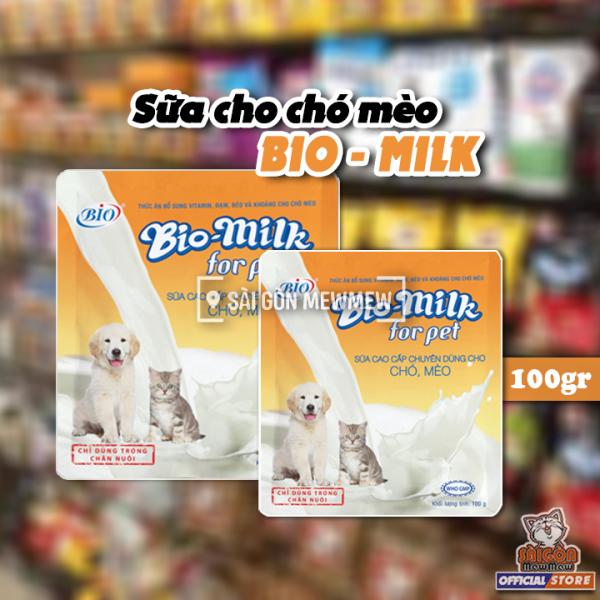 [CHÍNH HÃNG] Sữa cho chó mèo Bio Milk 100gr