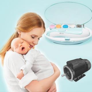 Bộ bấm móng tay, bộ cắt móng tay bằng điện, bộ dũa móng tay, máy dũa móng tay, dụng cụ cắt móng tay cho em bé, cắt móng tay cho trẻ sơ sinh dưới 3 tháng tuổi, trẻ sơ sinh dưới 6 tháng tuổi, người lớn thumbnail