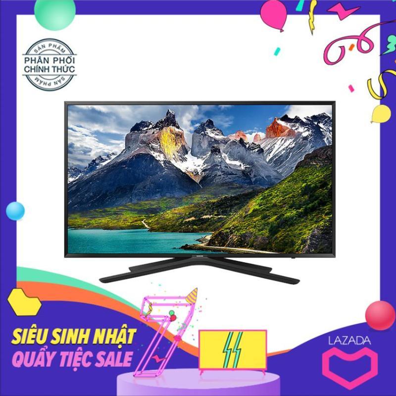 Bảng giá Smart Tivi Led Samsung 49 inch Full HD - Model 49N5500 (Đen) Tích hợp DVB-T2, Wifi