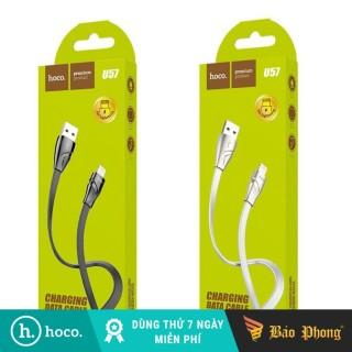 Cáp sạc iPhone iPad HOCO U57 USB to Lightning dài 1.2M thumbnail