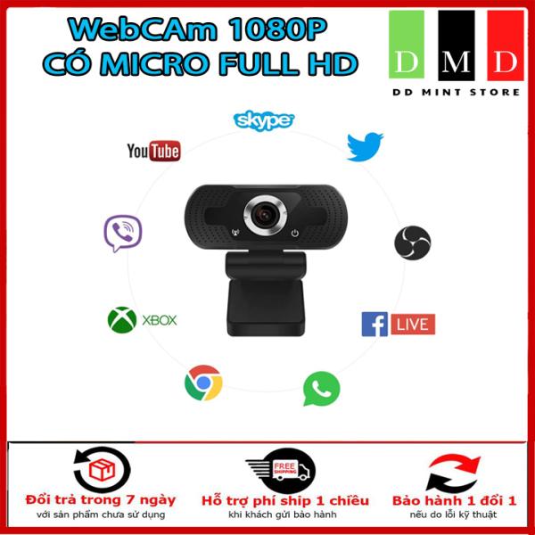 Bảng giá Webcam HD 1080P - Webcam Máy Tính Mini PC Camera Web Với Phích Cắm USB Camera Xoay Để Phát Sóng Trực Tiếp Cuộc Gọi Video Công Việc Hội Nghị , Học Online , Trò Chuyện Trực Tuyến. Bảo Hành 6 tháng. Phong Vũ