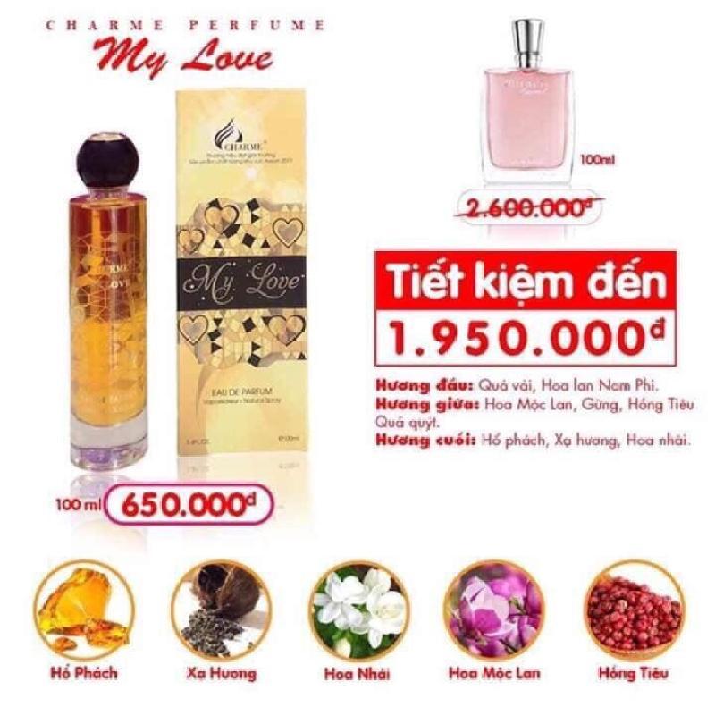 Nước hoa nữ My Love - NỮ TÍNH, THANH LỊCH VÀ SANG TRỌNG (100ML)