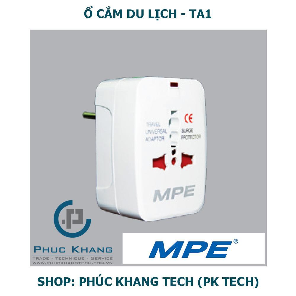 Ổ cắm du lịch MPE - Phúc Khang Tech