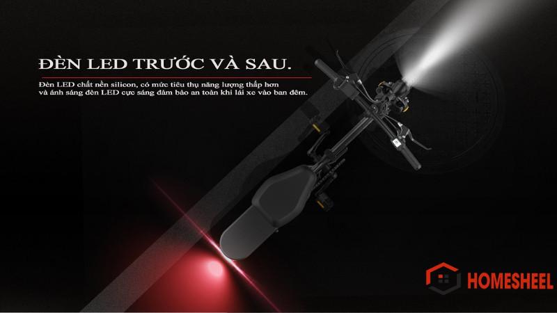 Phân phối Xe điện thông minh thể thao siêu gấp gọn homesheel FTN T5s phiên bản 15 AH-hàng chính hãng-màu đen