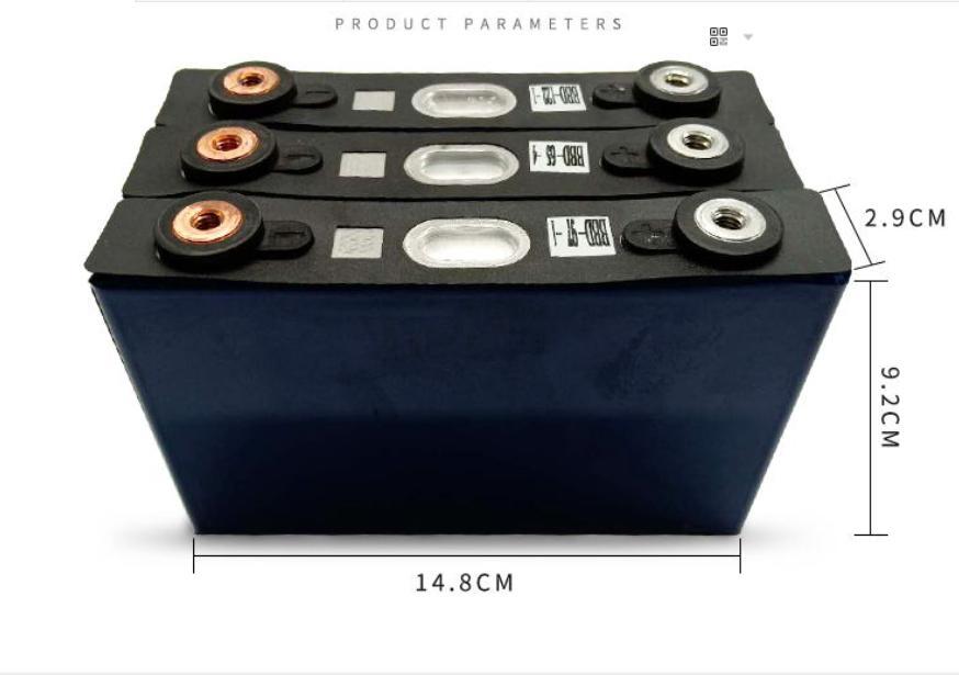 Pin Lithium Phosphate 3.2V 20Ah 10C, Pin xe điện, Pin Năng Lượng Mặt Trời.