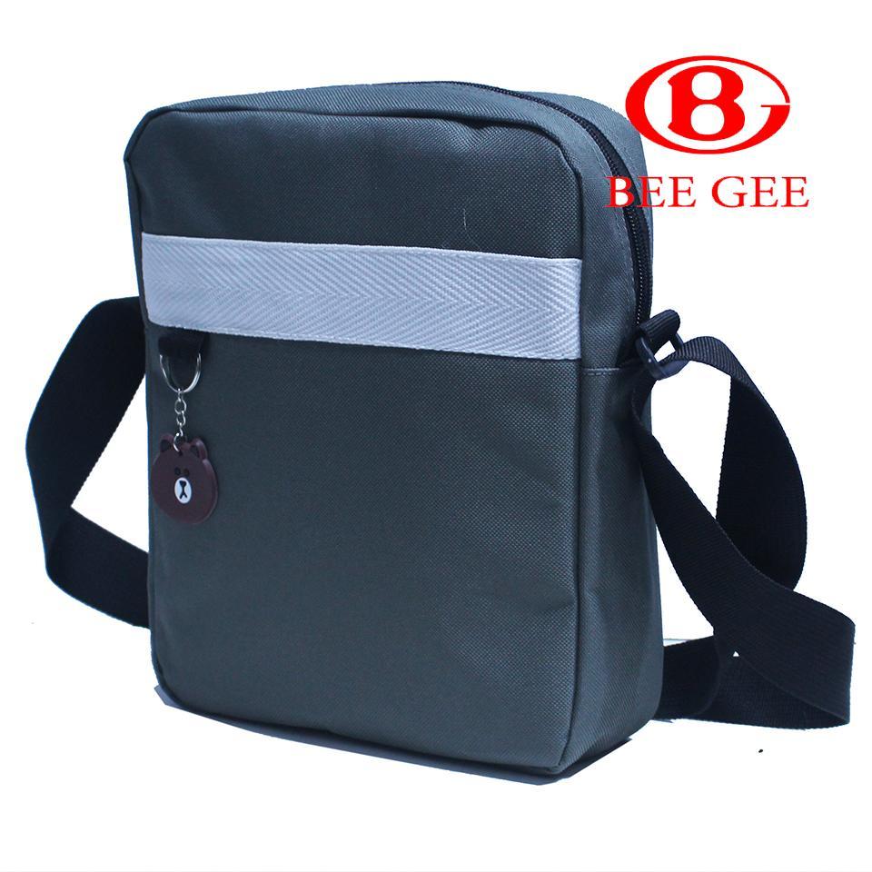 Túi vaỉ đeo chéo nam nữ unisex du lịch thời trang Hàn quốc hè 2019 Bee Gee 037 cao cấp chông thấm nước ( hàng đẹp giá rẻ )