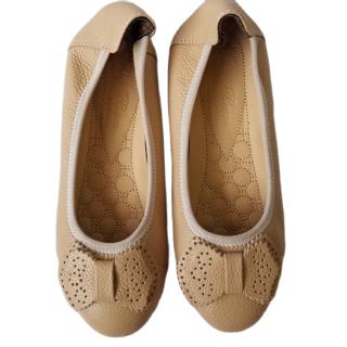 Giày Búp Bê Nữ Da Bò Thật Cao Cấp Bảo Hành Một Năm thumbnail