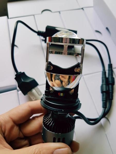 ĐÈN LED BI CẦU  MINI M01B CHÂN H4