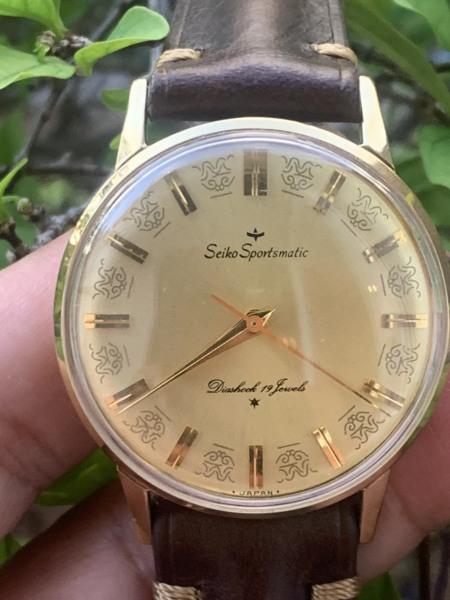 Đồng hồ nam SEIKO SPORTSMATIC của Nhật