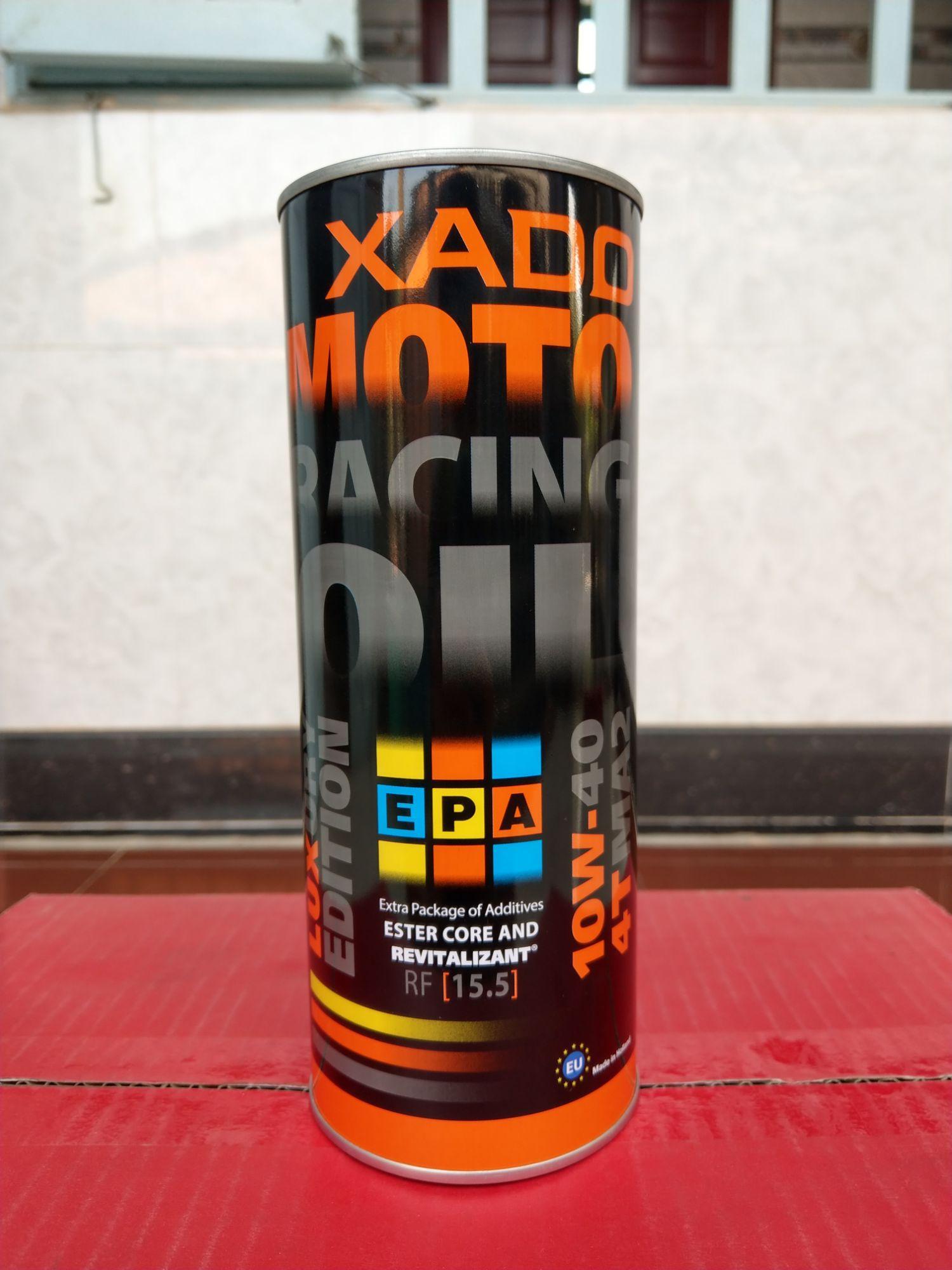 Ưu Đãi Giá cho Dầu Nhớt Xado Racing V2 10W40 1L (100% Tổng Hợp)