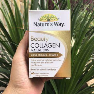 Viên uống Collagen dành cho da lão hóa - Nature s Way Beauty collagen Mature skin (60 viên) thumbnail