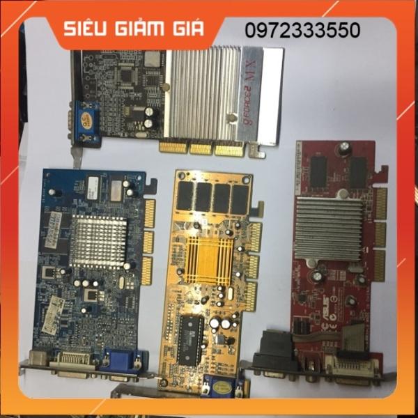 Bảng giá Card màn hình VGA Card khe cắm AGP 4X 16M 32M 64M Phong Vũ