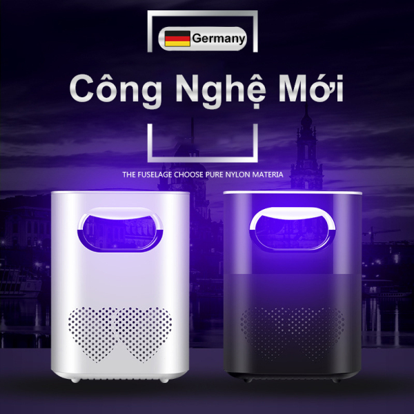 Đèn bắt muỗi, bắt côn trùng thông minh - máy bắt muỗi cổng USB bảo hành 12 tháng - DBM01