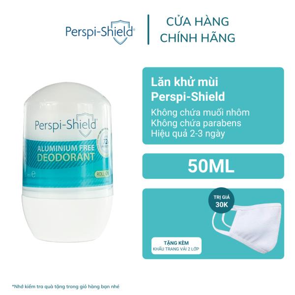 Lăn khử mồ hôi 72h không chứa muối nhôm Perspi-Shield 72h Aluminium Free Deodorant 50ml giá rẻ