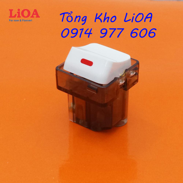 Bảng giá Hạt công tắc vuông 1 chiều 10A LiOA LVE18S12M