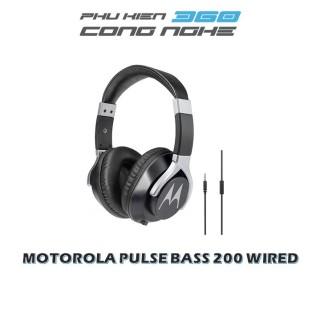 [HCM]Tai nghe chụp tai có dây Motorola Pulse Bass 200 Wired Single Chống ồn Micro trên dây Jack cắm 3.5mm [HÀNG CHÍNH HÃNG] thumbnail
