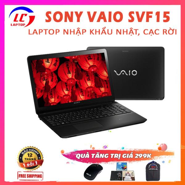 Bảng giá Laptop Sony VAIO SVF15 Chơi Game Làm Văn Phòng Cực Mượt, i5-4210U, VGA NVIDIA GT 740M-2G, Màn 15.6 FullHD IPS, Laptop Sony, Laptop i5, Laptop Giá Rẻ Phong Vũ