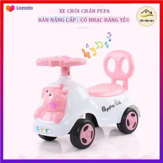 Xe Chòi chân Heo Pepa có nhạc , giúp trẻ tăng khả năng vâ n đô ng rèn luyê n thể chất, Đồ Chơi Hoạt Động Ngoài Trời Cho Bé thumbnail