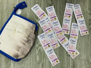 Combo 50 gói Dầu gội Dove hương hoa sen óng mềm tự nhiên 6gr ( gói rời) thumbnail