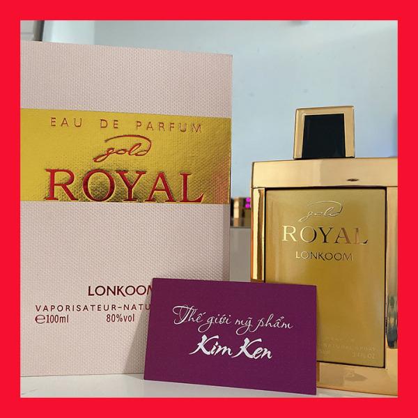 Nước hoa nam royal Gold dòng cao cấp 100ml