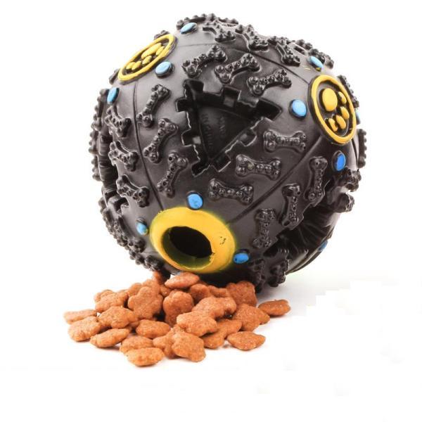 Bóng đồ chơi cho chó âm thanh rò rỉ thức ăn size bé