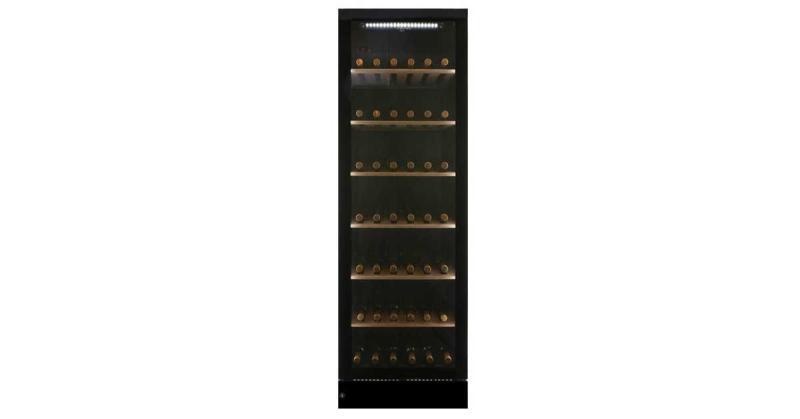 Tủ Bảo Quản Rượu Vintec V190SG2EBK 170 Chai